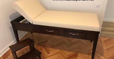 ahşap muayene masası, ahşap masaj masası, muayene masası, masaj masası, ahşap masaj masası imalatı