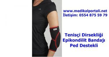 Tenisçi Dirsekliği Epikondilit Bandajı Ped Destekli 1