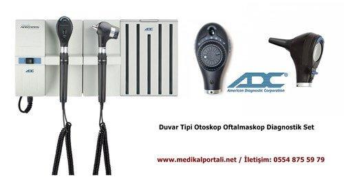 adc otoskop oftalmaskop set
