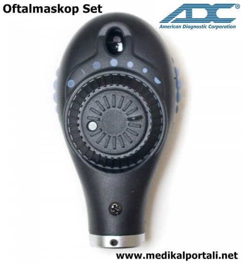 Duvar Tipi Otoskop Oftalmaskop Set ADC 5610-3/5680-3 1