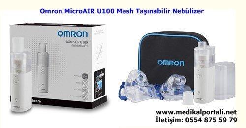 Omron MicroAIR U100 Taşınabilir Mesh Nebülizatör 1