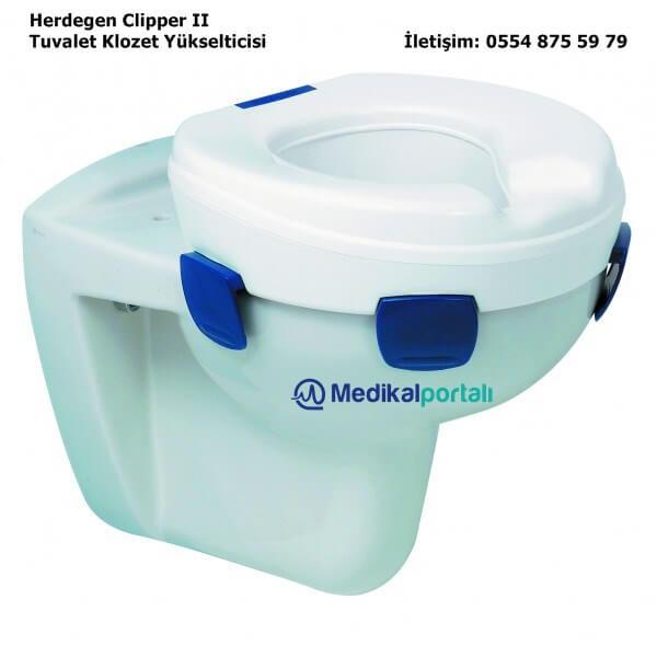 Klozet Tuvalet Yükselticisi Herdegen Clipper II 5