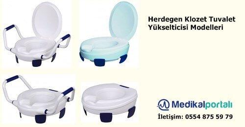 Klozet Tuvalet Yükselticisi Herdegen Contact Plus 1