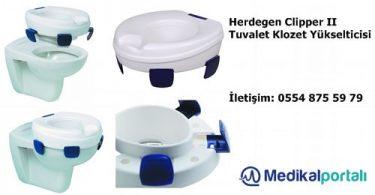 Klozet Tuvalet Yükselticisi Herdegen Clipper II 1