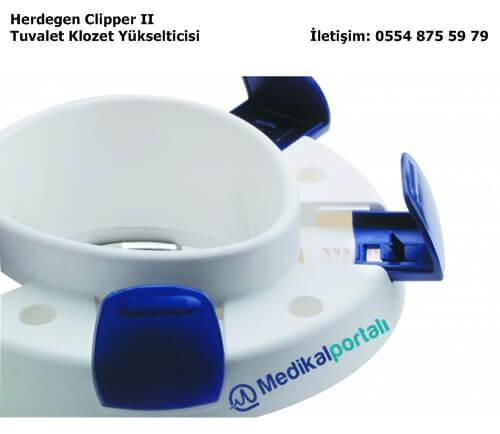 Klozet Tuvalet Yükselticisi Herdegen Clipper II 2